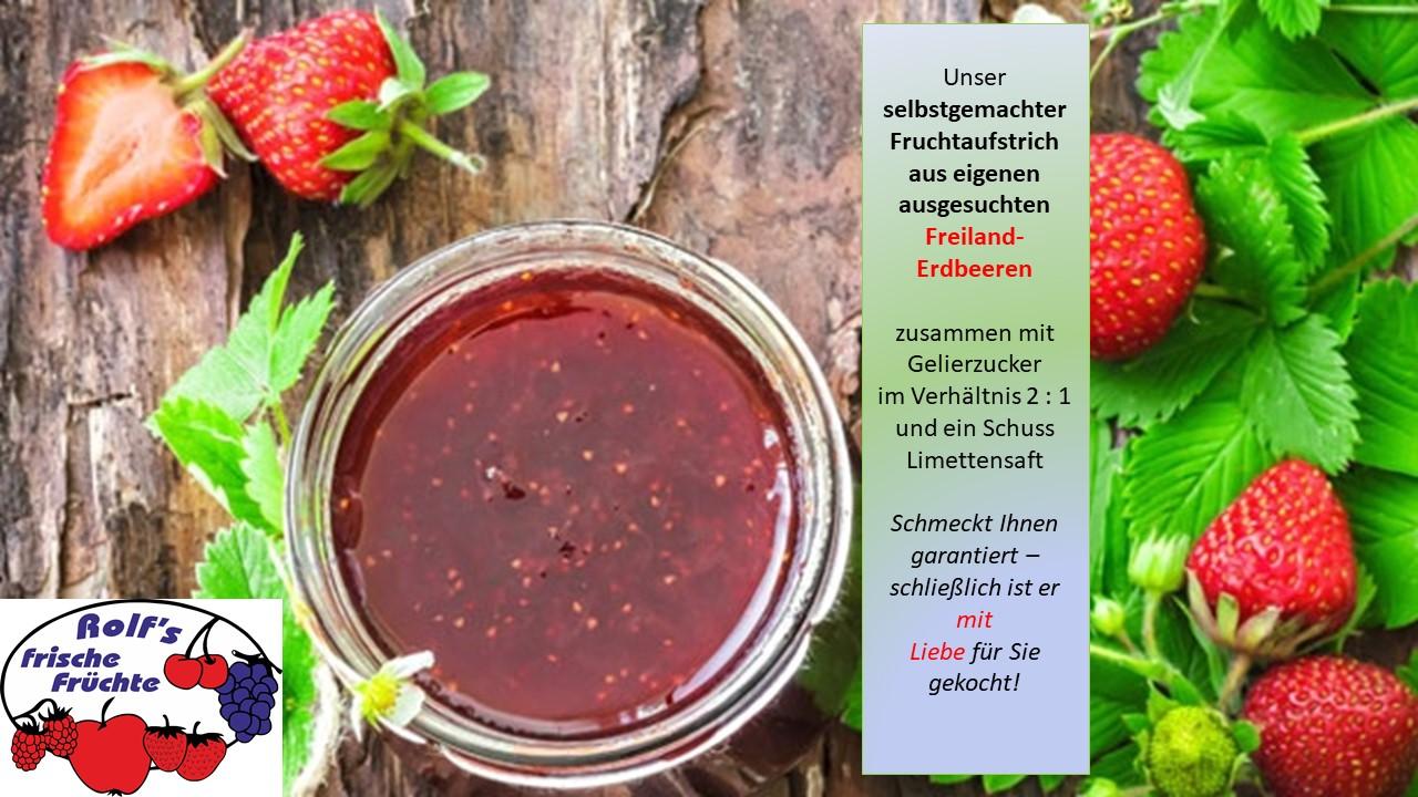 Kennen Sie schon unsere leckere Erdbeer-Marmelade?