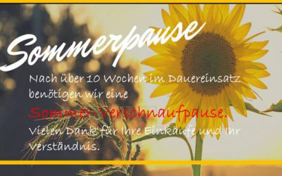 Saisonende – Sommerpause